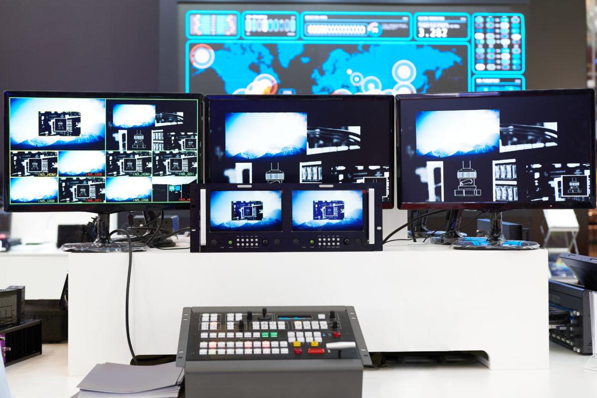 Vision Mixer LED Video